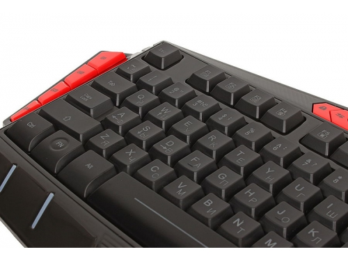 Клавиатура Defender Redragon Asura RU (USB), чёрная, вид 3