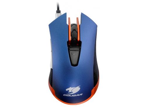 Мышка Cougar 550M, синяя, вид 2