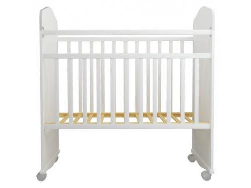 Детская кроватка Агат Золушка-8, белая, вид 1