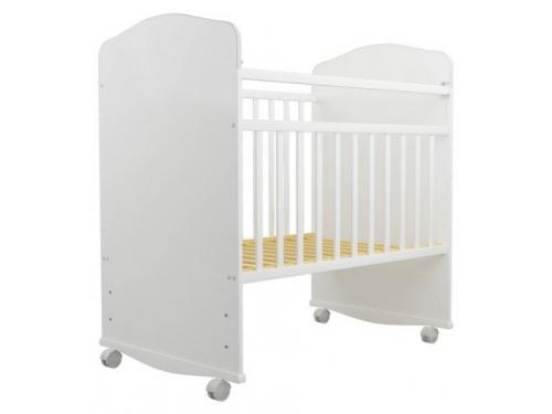 Детская кроватка Агат Золушка-8, белая, вид 3