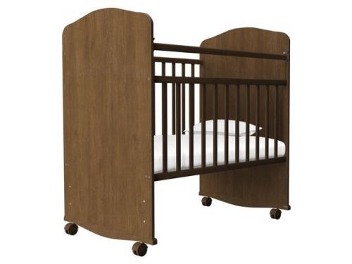 Детская кроватка Агат Золушка-8, орех, вид 1