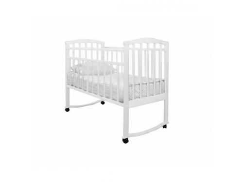 Детская кроватка Агат Золушка-1, белая, вид 1