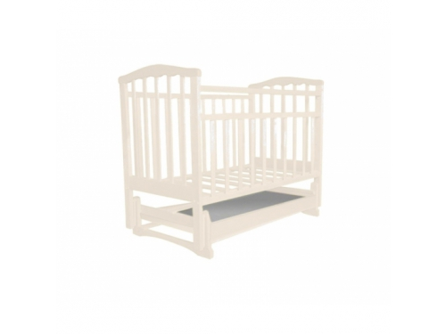 Детская кроватка Агат Золушка-4, слоновая кость, вид 1