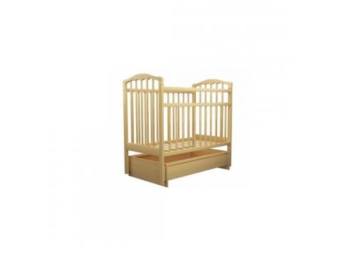 Детская кроватка Агат Золушка-4, светлая, вид 1