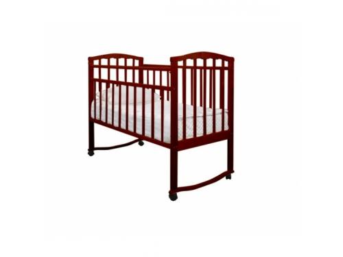 Детская кроватка Агат Золушка-1, вишня, вид 1