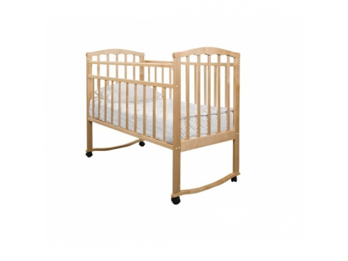 Детская кроватка Агат Золушка-1, светлая, вид 1