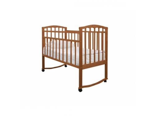 Детская кроватка Агат Золушка-1, орех, вид 1
