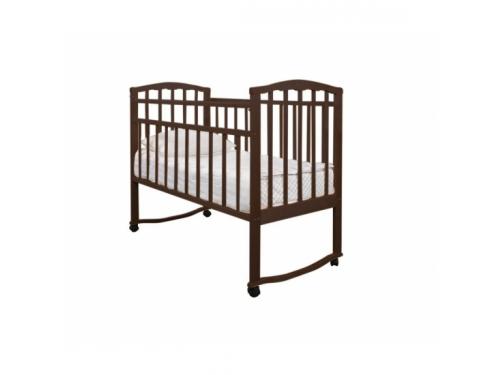 Детская кроватка Агат Золушка-1, шоколад, вид 1