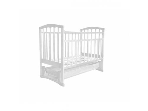 Детская кроватка Агат Золушка-6, белая, вид 1