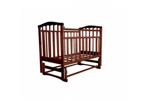 Детская кроватка Агат Золушка-3, вишня, вид 1