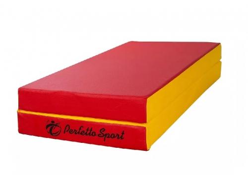 Мат гимнастический Perfetto Sport № 3 red-yellow, вид 1