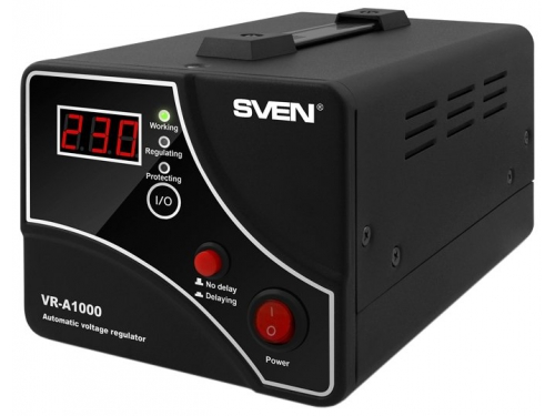 Стабилизатор напряжения Sven VR-A1000 (600 Вт), вид 1