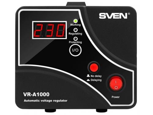 Стабилизатор напряжения Sven VR-A1000 (600 Вт), вид 2