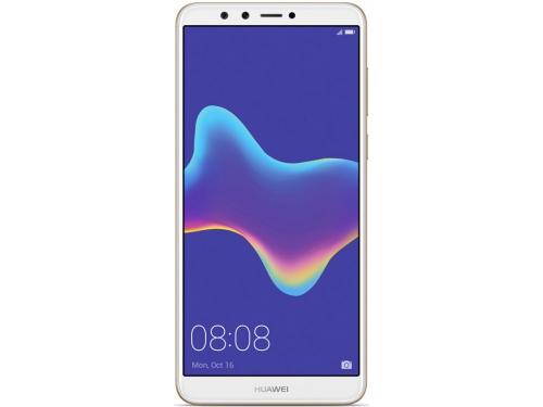 Смартфон Huawei Y9 2018 LTE FLA-LX1, золотистый, вид 1