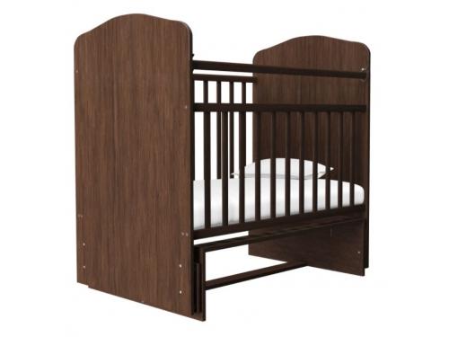Детская кроватка Агат Золушка-10, орех, вид 2