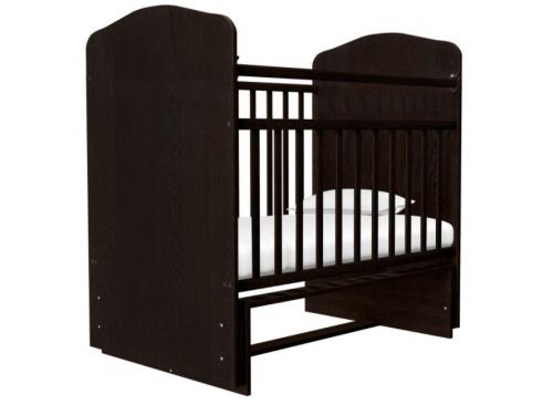 Детская кроватка Агат Золушка-10, вишня, вид 4