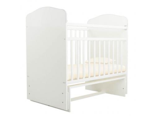 Детская кроватка Агат Золушка-10, вишня, вид 2