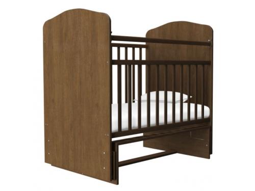 Детская кроватка Агат Золушка-10, орех, вид 3