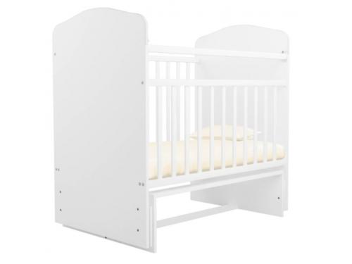 Детская кроватка Агат Золушка-10, вишня, вид 5