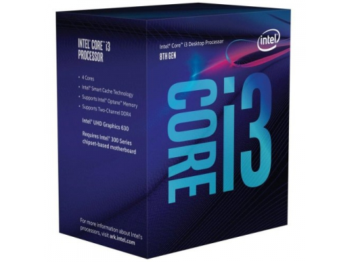 Процессор Intel Core i3-8300 BOX (BX80684I38300SR3XY), вид 1