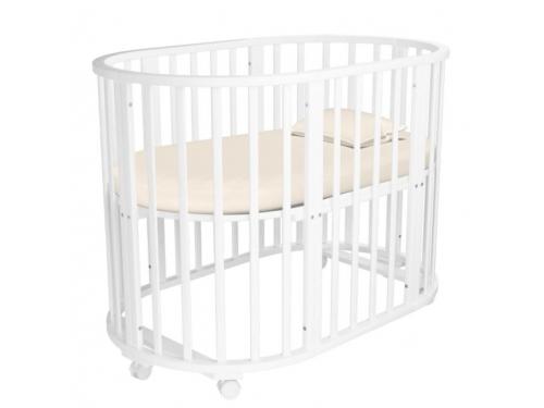Детская кроватка Папа Карло 5 в 1 (трансформер), бежевая, вид 4