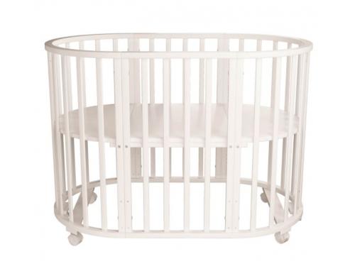 Детская кроватка Папа Карло 5 в 1 (трансформер), бежевая, вид 5