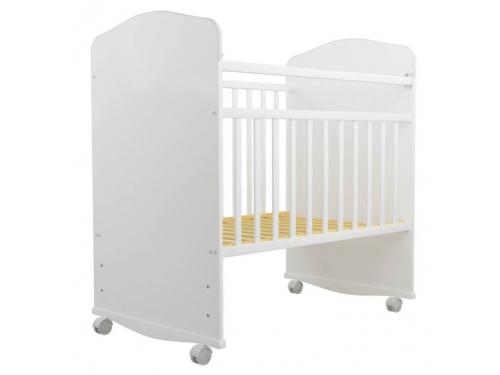 Детская кроватка Агат Золушка-8, белая, вид 2
