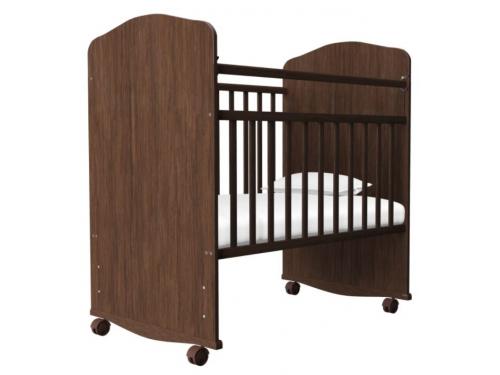 Детская кроватка Агат Золушка-8, орех, вид 2