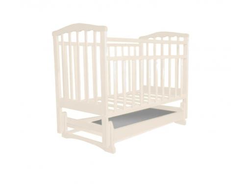 Детская кроватка Агат Золушка-4, светлая, вид 2