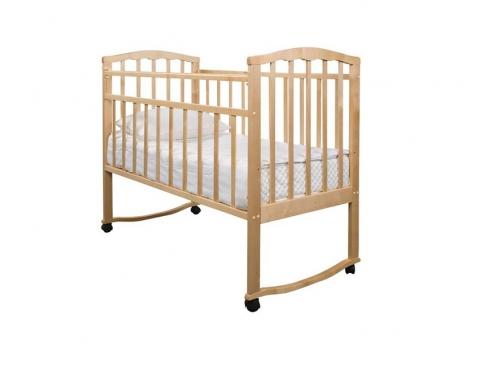 Детская кроватка Агат Золушка-1, вишня, вид 4