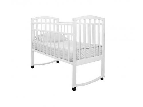 Детская кроватка Агат Золушка-1, вишня, вид 6