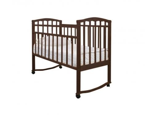 Детская кроватка Агат Золушка-1, вишня, вид 3