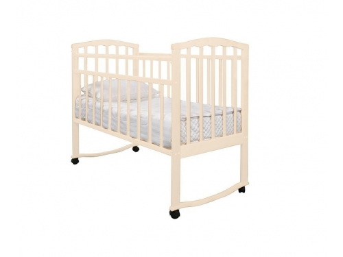 Детская кроватка Агат Золушка-1, вишня, вид 7