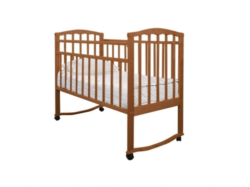 Детская кроватка Агат Золушка-1, шоколад, вид 3