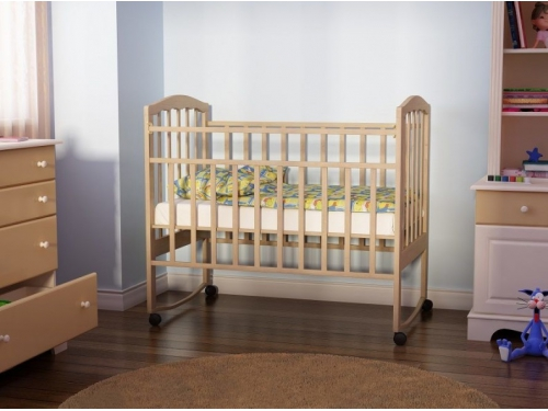 Детская кроватка Агат Золушка-1, вишня, вид 9