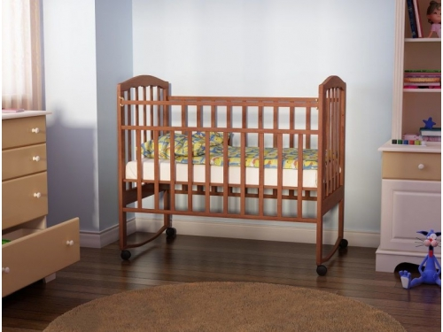 Детская кроватка Агат Золушка-1, вишня, вид 8