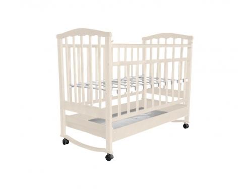 Детская кроватка Агат Золушка-2, орех, вид 3