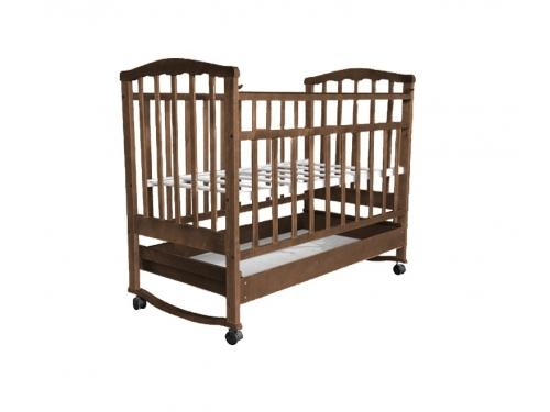 Детская кроватка Агат Золушка-2, орех, вид 5