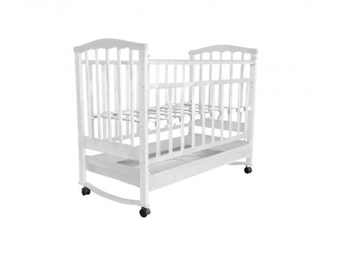 Детская кроватка Агат Золушка-2, орех, вид 6