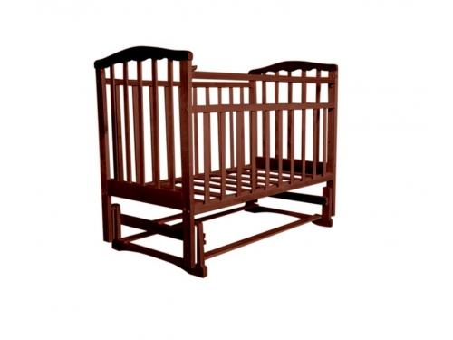 Детская кроватка Агат Золушка-3, вишня, вид 2
