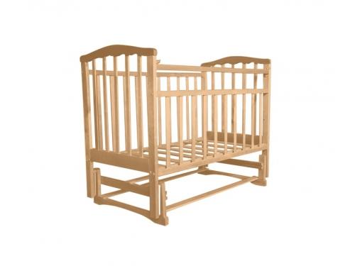 Детская кроватка Агат Золушка-3, вишня, вид 3
