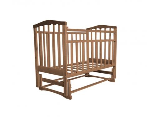 Детская кроватка Агат Золушка-3, вишня, вид 4