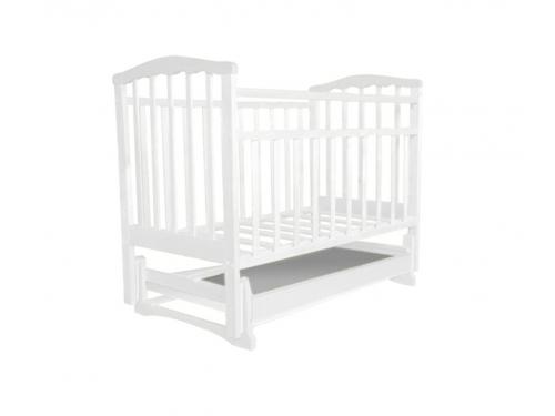 Детская кроватка Агат Золушка-4, белая, вид 2