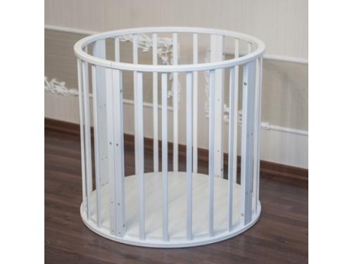 Детская кроватка Папа Карло 6 в 1 (трансформер), белая, вид 10
