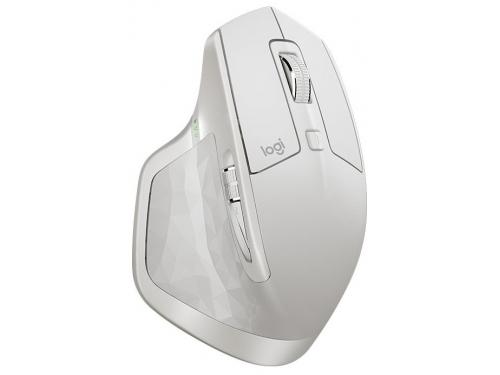 Мышь Logitech MX Master 2S, светло серая, вид 3