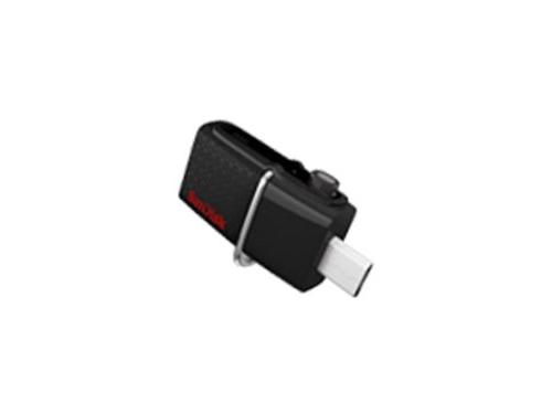 Usb-флешка Sandisk Ultra Dua 128Gb черная, вид 2