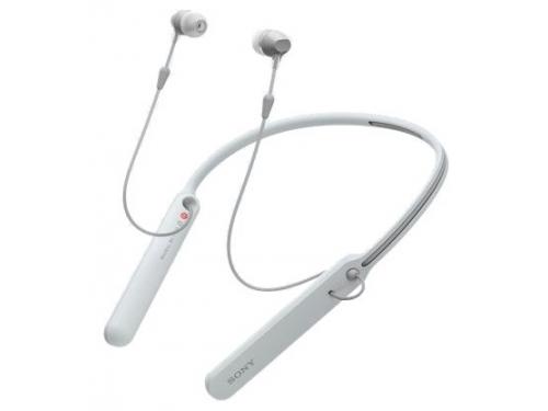 Наушники Sony WI-C400 белые, вид 1