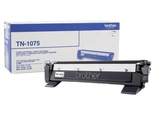 Картридж для принтера Brother TN-1075 Чёрный, вид 1