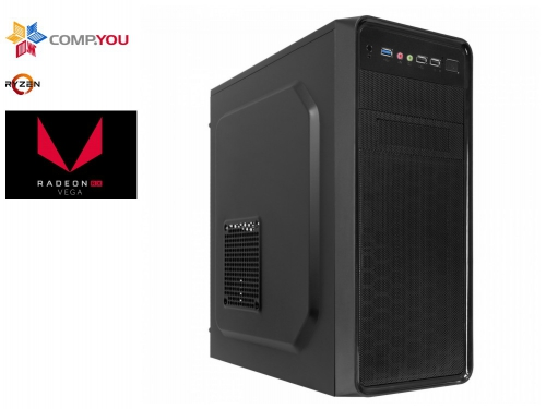 Системный блок CompYou Home PC H555 (CY.619607.H555), вид 1