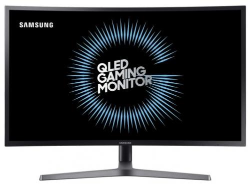 Монитор Samsung C32HG70QQI темно-серый, вид 1